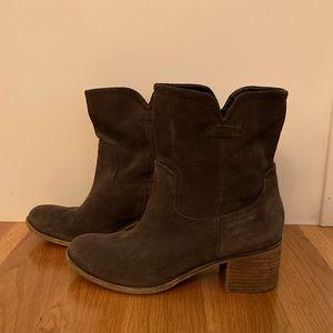 Franco Sarto Suede Booties - Size 8